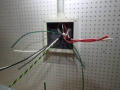 配管の入線作業を行いました【施工事例】